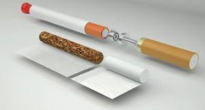 Incroyable : la cigarette électronique ne contiendrait pas de papier.
