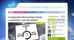 La Cigarette électronique (trop) « encadrée » par Bruxelles? sur rpt21.fr