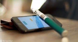 La connectivité entre smartphones et vaporisateurs commence à faire son apparition ...