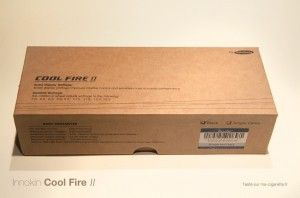 Coffret du Cool Fire 2 avec son certificat d'authenticité.
