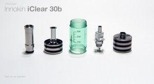 L'iClear 30B entièrement démonté en 5 parties distinctes