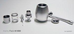 L'ensemble des éléments composants le pack Kamry K1000