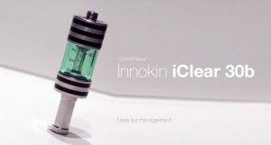 L'Iclear 30B : le nouveau clearomiseur de chez Innokin.