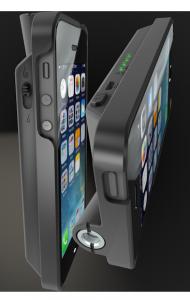 Le VapeCase est une coque pour téléphone portable qui contient une batterie et un pas de vis 510.