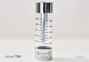 La graduation presque millimétrée sur le T3 D pourra paraître futile pour certains
