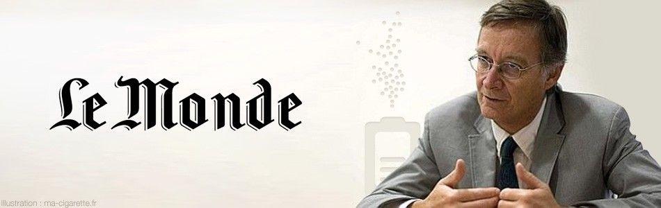 Antoine Flahault, Epidémiologiste, parle du vaporisateur personnel sur le journal Le Monde.