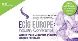 """eCig Europe : """"où l'industrie de l'e-cigarette façonne son futur"""" selon les organisateurs"""