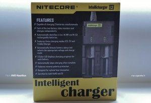 Le chargeur I2 (Nitecore) vous permettra de charger n'importe quel type d'accu.