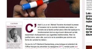 """""""La cigarette électronique, cette révolution que le gouvernement ne comprend pas"""" par Jean-Yves Nau sur slate.fr"""