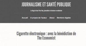 Cigarette électronique : avec la bénédiction de The Economist sur jeanyvesnau.com