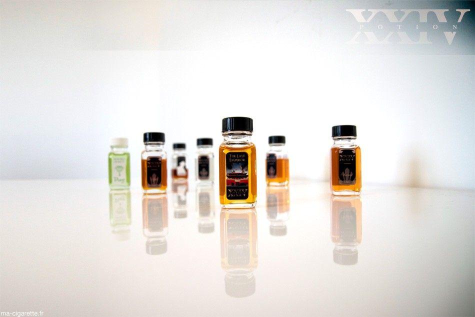 E-liquides Potion XXIV fabriqués par la société californienne Vapor Craze et importés en France par la boutique Culture Vap.