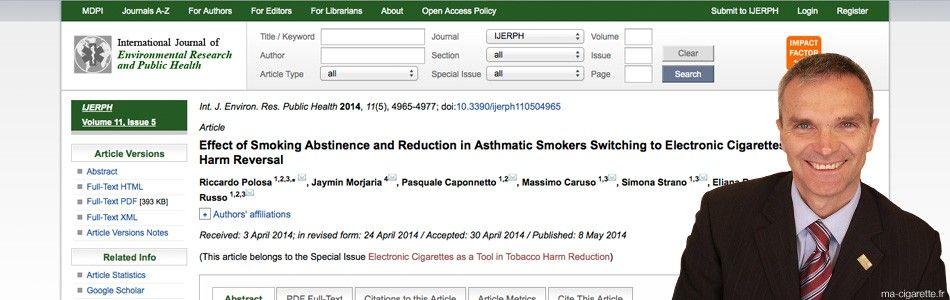 Une étude publiée le 8 mai 2014 dans le journal international de la recherche environnementale et de santé publique.