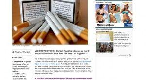 """""""Marisol Touraine présente ce mardi son plan anti-tabac. Vous avez une idée à lui suggérer?"""" sur 20 minutes"""