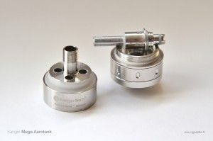 Les nouvelles résistances doubles (dual-coil) ne sont pas retro-compatible avec les anciennes versions des clearomiseurs Kanger, mais l'inverse est possible : les résistances V1 s'adaptent partout.