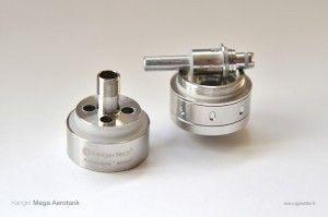 Les nouvelles résistances doubles (dual-coil) ne sont pas retro-compatible avec les anciennes versions des clearomiseurs Kanger, mais l'inverse est possible : les résistances V1 s'adaptent partout.