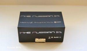 La boite du Russian 91%