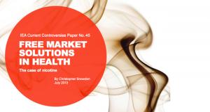 Les solutions du marché libre dans la santé. Un document signé Christopher Snowdon.