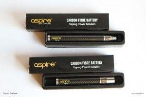 L'effet carbone est l'un des arguments graphiques de ces nouvelles batteries Aspire.