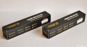 CF VV 1600 et CF VV+ 1000 : les deux nouvelles batteries grand public de chez Aspire.