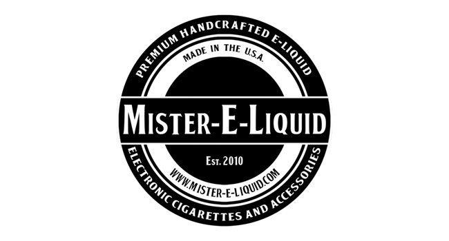 E-liquide Mister E-liquid fabriqué aux USA.