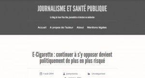 E-Cigarette : continuer à s'y opposer devient politiquement de plus en plus risqué sur http://jeanyvesnau.com/