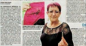 """""""Brûlée par l'explosion d'une batterie d'e-cigarette"""" à lire dans l'édition du Parisien (vendredi 19 septembre 2014)"""