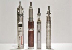 De gauche à droite : Seven 30, Silenus, iJust et iTaste SVD 2.0