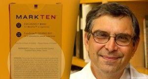 Dr. Robert K. Jackler professeur à l'école de médecine de Standford (États-Unis) mène des recherches sur la publicité en faveur des e-cigarettes.