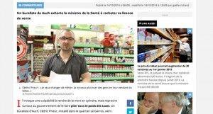 """""""Je ne veux plus tuer les gens"""" : un buraliste du Gers veut revendre sa licence"""