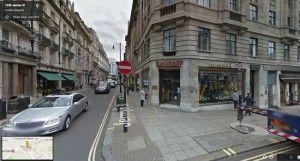 Un magasin Davidoff ici à Londres (source Google Street)