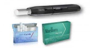 Le tabac chauffé iQOS développé par PMI