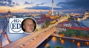Hans Christian Holy, président de l'association allemande des vapoteurs