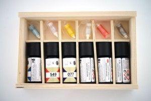 """Six e-liquides """"mystère"""" sont à découvrir à l'aide des cartomiseurs fournis."""