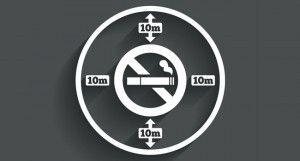 Boutiques d'e-cigarette et bureaux de tabac ne font décidément pas bon ménage.