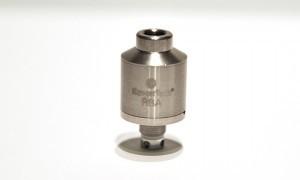 Autre possibilité d'utilisation de cet atomiseur, un montage RBA (reconstructible).