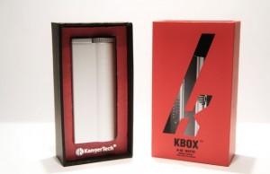 Le revêtement de la Kbox est fait d'aluminium.