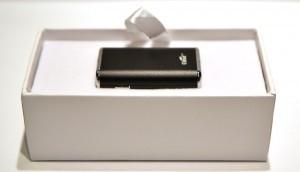 Le Mini iStick dans son boiter.
