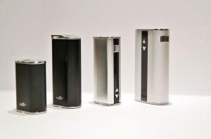 De gauche à droite : Mini iStick, iStick, XX et XX.