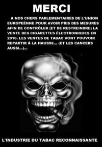 """""""http://www.agoravox.fr/tribune-libre/article/le-gouvernement-prefere-le-tabac-a-165016"""" à lire sur Agoravox."""
