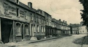 Formerie - Place du Fryer - Avant la Première Guerre mondiale