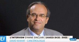 David Khayat, Chef du service d'oncologie médicale de l'hôpital de la Pitié-Salpêtrière