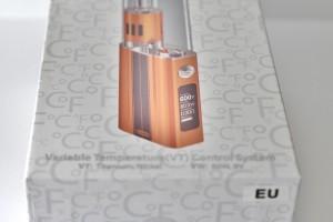 L'eVic-VT 60W dispose d'une batterie de 5000mAh et permet le contrôle de la température.