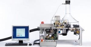 Exemple de machine à fumer utilisée pour l'expérience (VITROCELL® smoking robot).