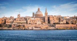 La cathédrale St. Paul ici à Valletta.