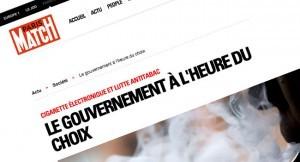"""""""Le gouvernement à l'heure du choix"""" sur Paris Match"""