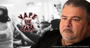 Phil Busardo dénonce un manque d'attention de la part des organisateurs du Vape Jam Uk quant aux problématiques actuelles de la vape.