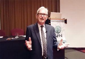 Gerry Stimson, directeur de Knowledge-Action-Change et professeur émérite à l'Imperial College London.