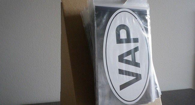 Sticker Vape présentoir