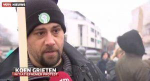 Koen Grieten, organisateur de la manifestation