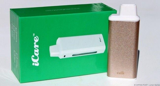 cigarette électronique iCare de Eleaf et sa boîte